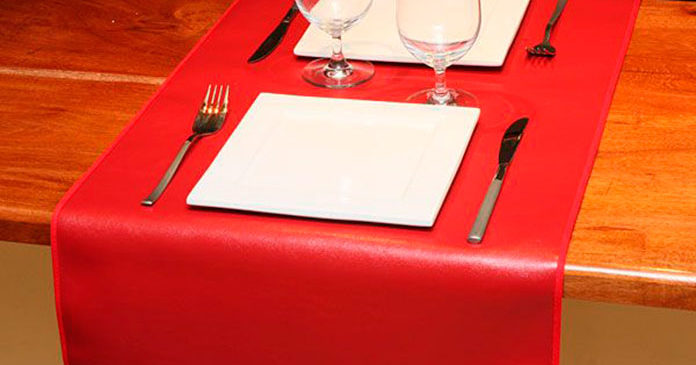 Leather Table Runners