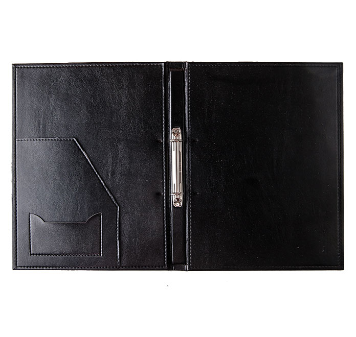 Leather Binder for Hotels