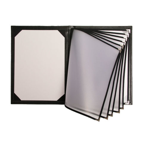 Menu Covers with PVC Payment