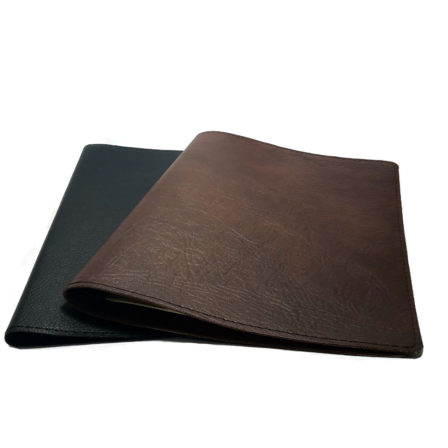 Stylish Leather Menu Covers