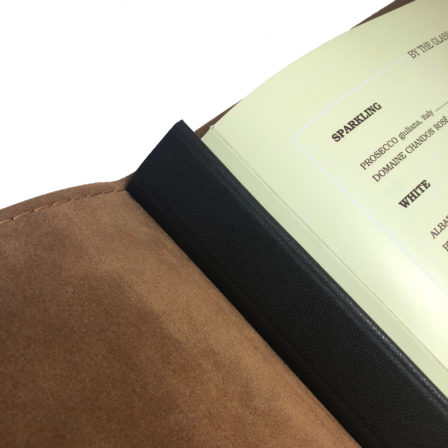 Best Leather Menu Covers